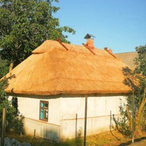 Крыши из камыша для беседки