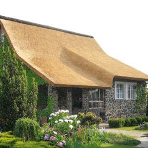 Крыши из тростника способ укладки