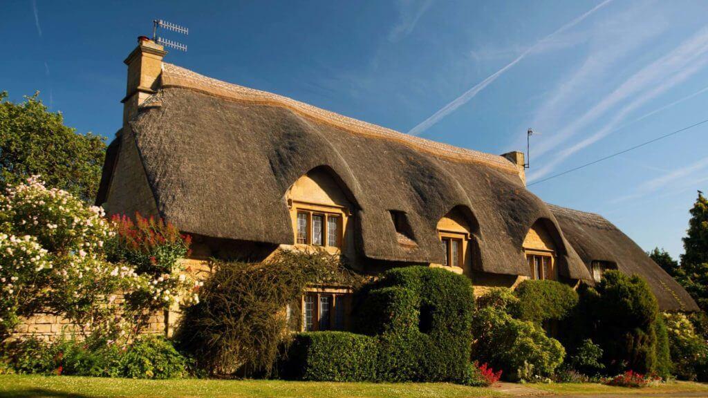 Утепление крыши соломой