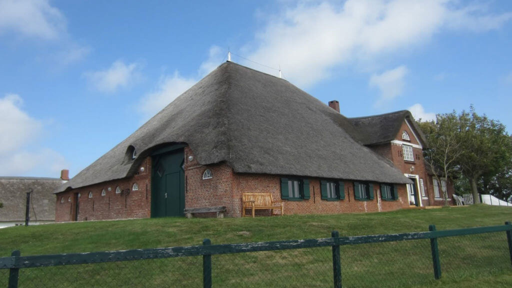Соломенная крыша с экологически чистого материала